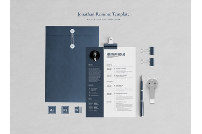 Jonathan Resume Template