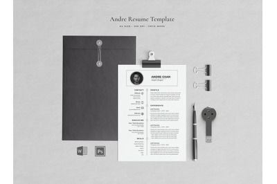 Arie Resume Template