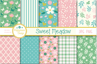 Sweet Meadow papers