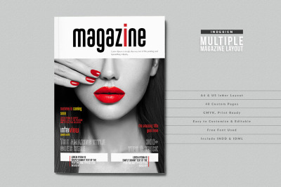 Modern and multipurpose magazine layout