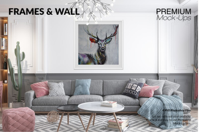 Frames & Wall Set