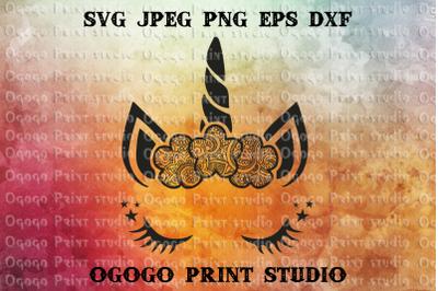 Unicorn SVG, Zentangle SVG, Animal svg, Mandala svg, Cricut