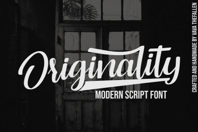 Originality Script Font