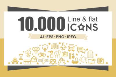 The Icon Bundle 10000