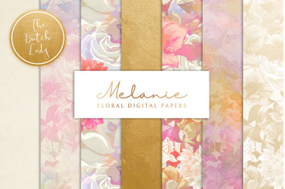 Floral Backgrounds & Paper Designs - Melanie