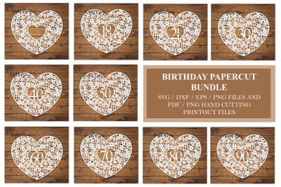Birthday / Anniversary designs