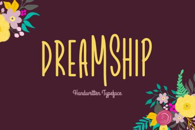 Dreamship Typeface