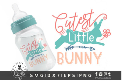 Cutest Little Bunny SVG DXF EPS PNG