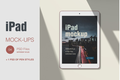 iPad Scene Creator Mockup