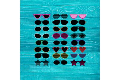 Really Big Sunglasses Bundle - Sunglasses SVG