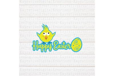 Happy Easter SVG - Boy Easter Shirt
