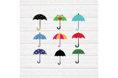 Umbrella SVG Bundle