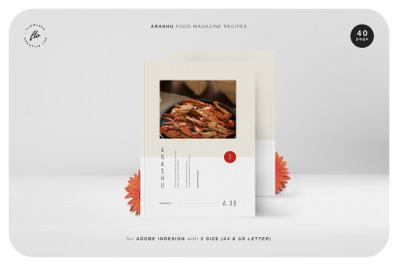 ARASHU Food Magazine Recipes