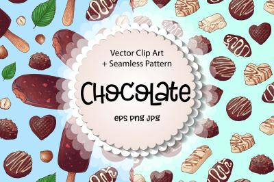 Chocolate  vector clip art