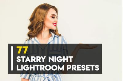 77 Starry Night Lightroom Presets