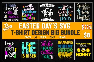 Easter Day SVG T Shirt Design Big Bundle
