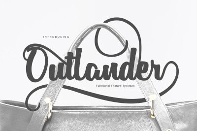 Outlander | Swashes Typeface