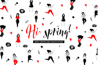 Hi, spring! Lady collection