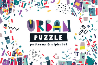 Urban Puzzle - Patterns & Alphabet