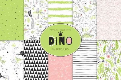 Dino Age pattern set