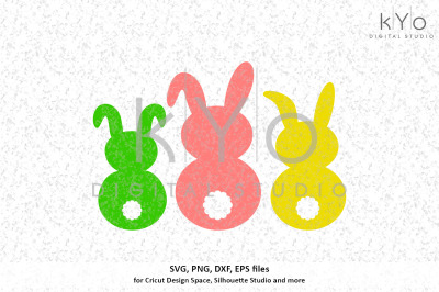 Easter Bunny svg png dxf eps files