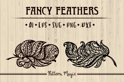Fancy feathers