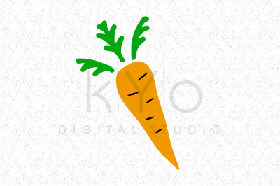 Carrot Illustration svg png dxf eps files
