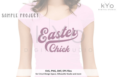 Easter Chick shirt design svg png dxf eps files