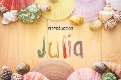 julia font