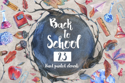 Back to School, Watercolor Kit