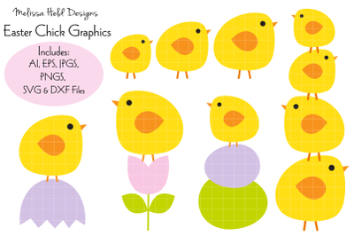 Easter Chick Graphics