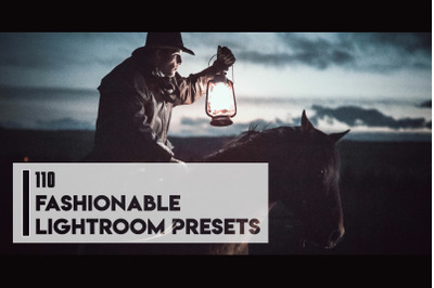 110 Fashionable Lightroom Presets