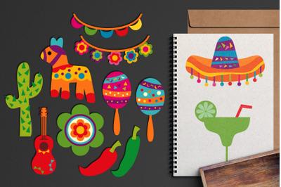 Cinco De Mayo Mexican Graphics