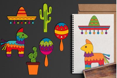 Mexican Party Cinco de Mayo Graphics