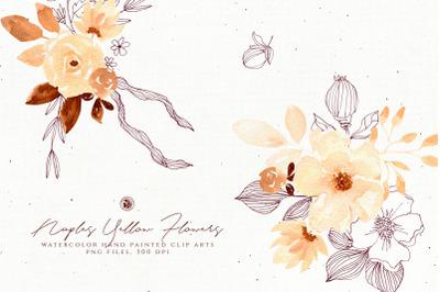 Naples Yellow Flowers