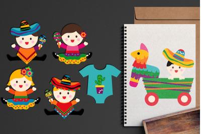 Mexico Baby Cinco De Mayo Graphics