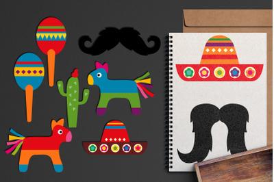 Mexico Cinco De Mayo Illustrations