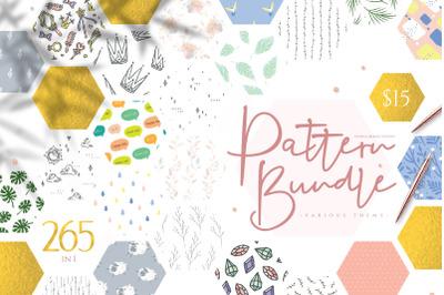 PROMO PRICE :) Pattern Bundle - 265 in 1