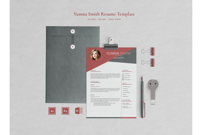 Yumna Resume Template