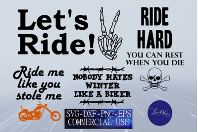 motorcycle svg bundle, biker quotes