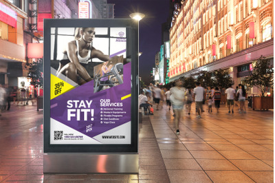 Fitness Poster Template
