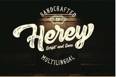 Herey - Script and Sans