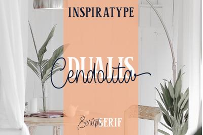 Cendolita Dualist - Script and Serif