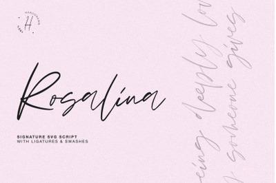 ROSALINA SVG SCRIPT