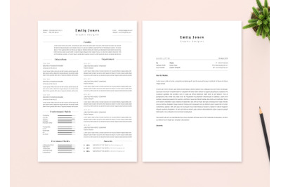 Resume & CoverLetter Template