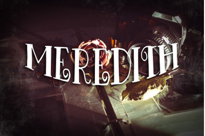 Meredith Font