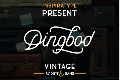 Dingbod - Vintage Script and Sans