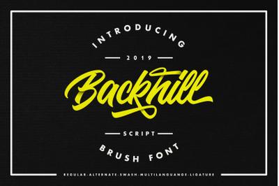 Backhill - Script Font