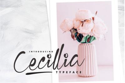 Cecillia Typeface