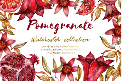 Floral Collection of Pomegranate BIG SALE!